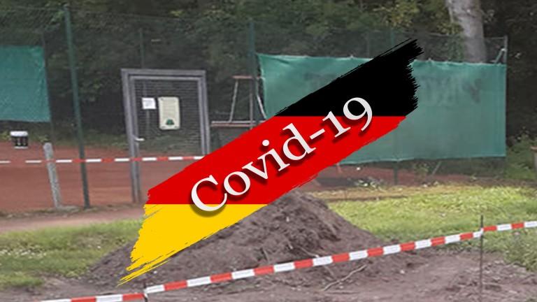 covid-19-Sperrung