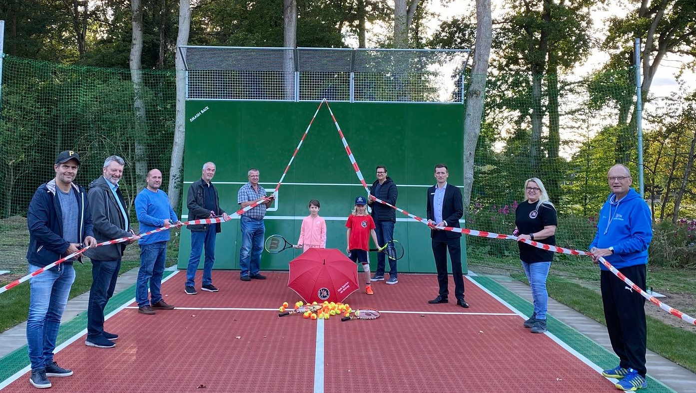 Einweihung Tenniswand_25-09-2020
